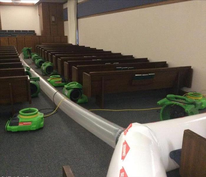 LDS Church Suffers Water Damage